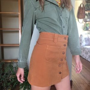 Madewell 70s style skirt size 0